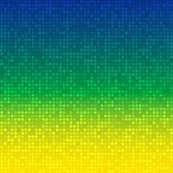 Abstract background with brazil flag colors