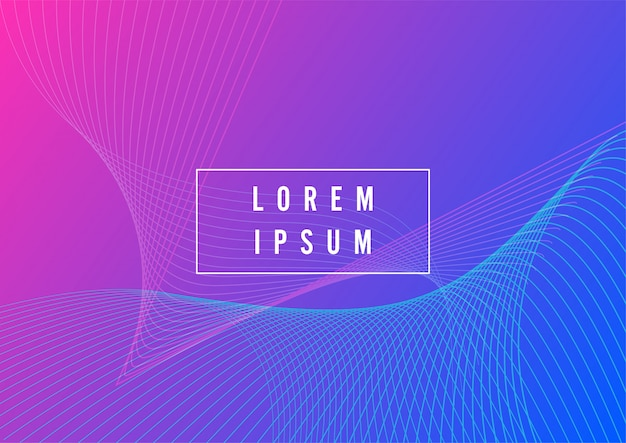 Abstract background with bright color neon lights and lines. glowing background