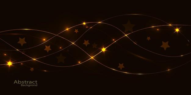 Абстрактный фон с яркими световыми эффектами для векторные иллюстрации