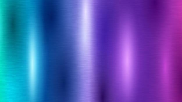 色付きの金属の質感と抽象的な背景