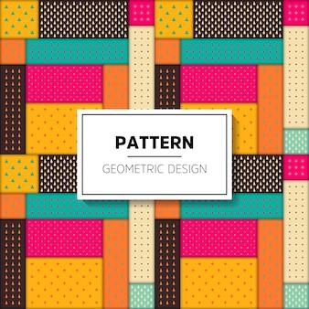 화려한 패턴으로 추상적 인 배경