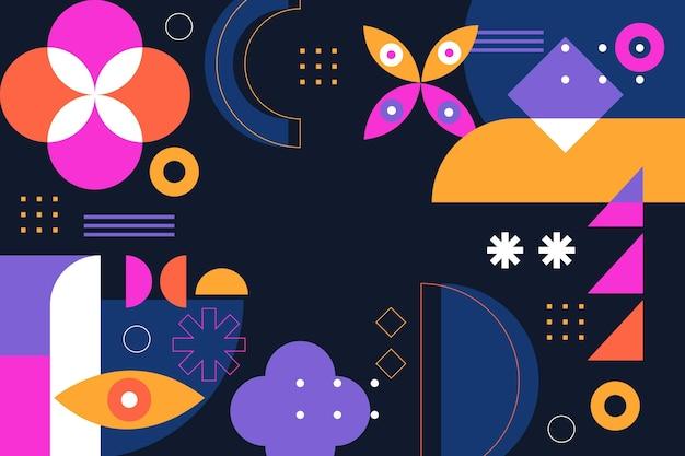 Абстрактный фон с красочными формами
