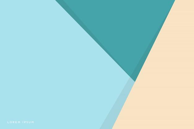 カラフルな三角形と抽象的な背景