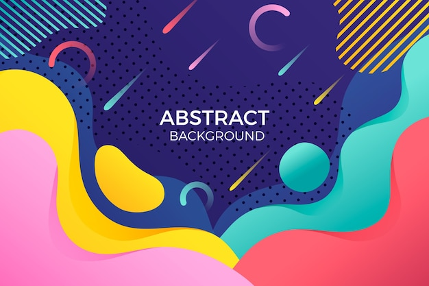 Abstract background with colourful rainy lines
