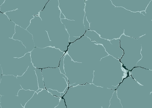Abstract background with cracks