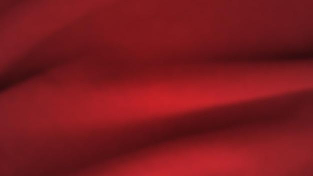 구겨진 천으로 추상적인 배경입니다. 빈 공간이 있는 진한 빨간색 현실적인 실크 질감. 벡터 일러스트 레이 션