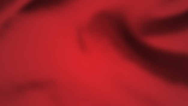 Abstract background with crumpled cloth. dark red realistic silk texture with empty space. vector illustration