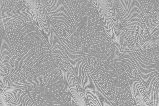 곡선된 물결선으로 추상적인 배경입니다. 디자인에 대 한 벡터 일러스트 레이 션. 라인에서 웨이브