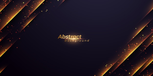 Abstract background with diagonal glowing lines.
