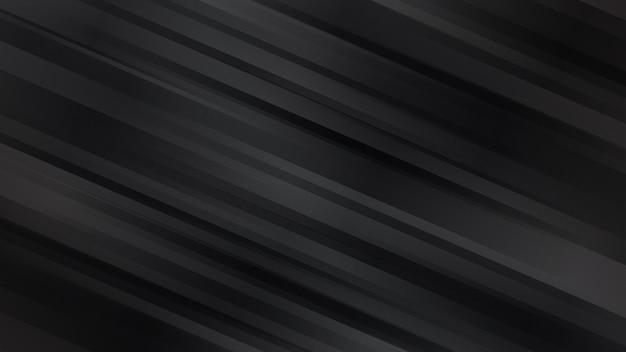 黒い色の斜めの線で抽象的な背景