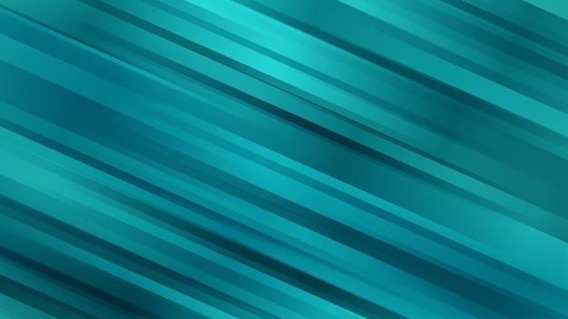 청록색의 대각선이 있는 추상적인 배경