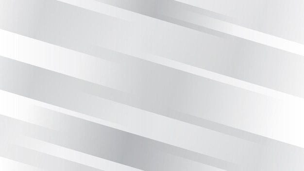 Abstract background with diagonal lines in white and gray colors