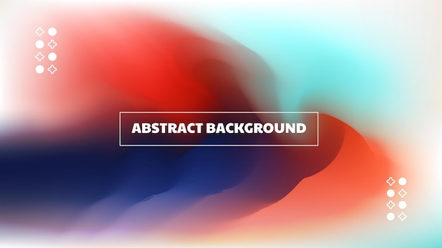 Abstract background with dynamic wave form
