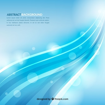 Abstract background with elegant waves