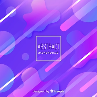 Abstract background with flat shapes