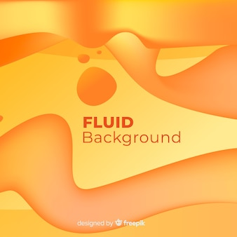 Abstract background with fluid shapes