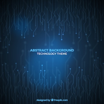 Abstract background with futuristic style
