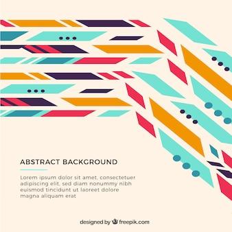Абстрактный фон с геометрическим дизайном
