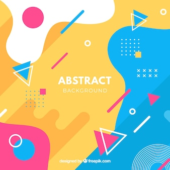 Abstract background with geometric design