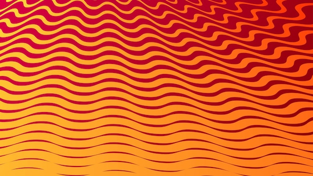 Abstract background with geometric halftone design in orange colors