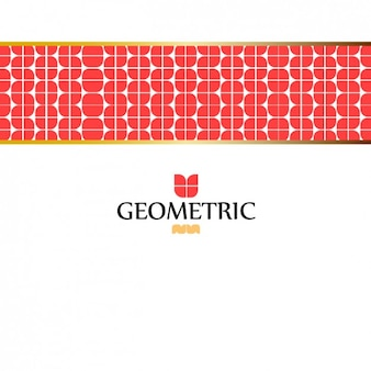 Abstract background with geometrical band