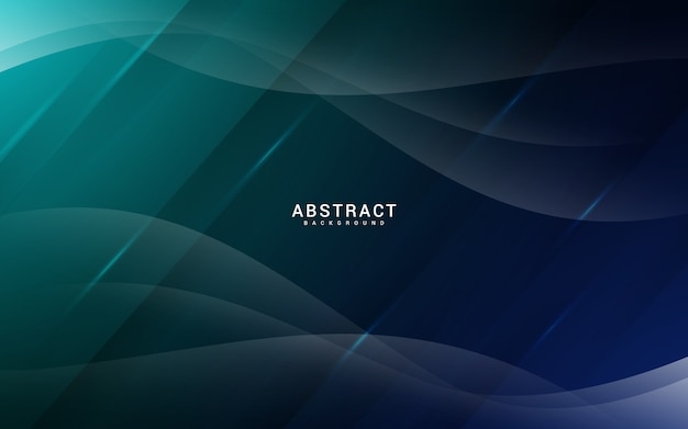 Abstract background with glass effect