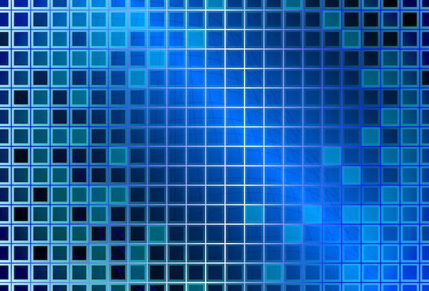 Abstract background with glass squares