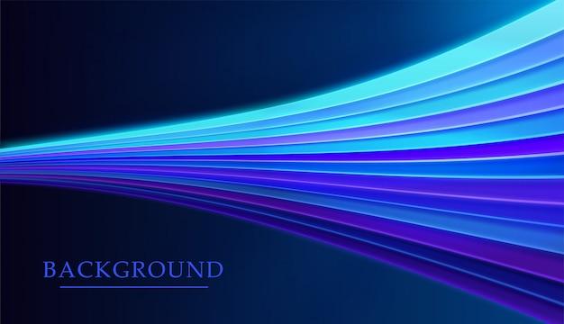Абстрактный фон с светящимися линиями