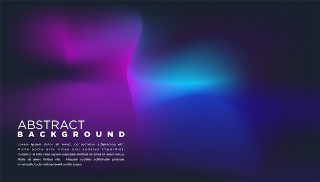 Abstract background with gradient in black color