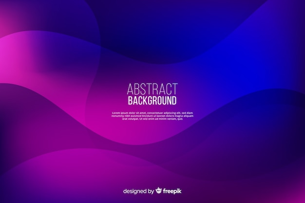 Abstract background with gradient shapes