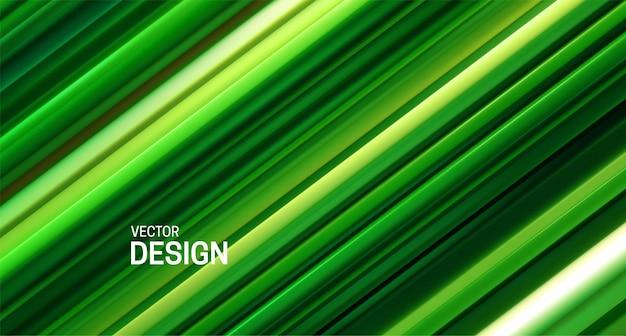 緑の層状の表面を持つ抽象的な背景
