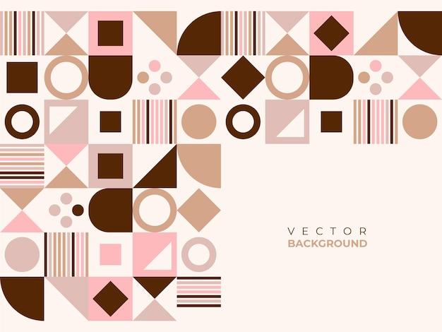 Абстрактный фон с полукругом, квадратной линией, точка волны, геометрические текстуры, стиль мемфис