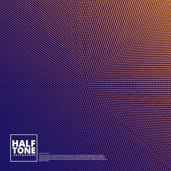 Abstract background with halftone design.