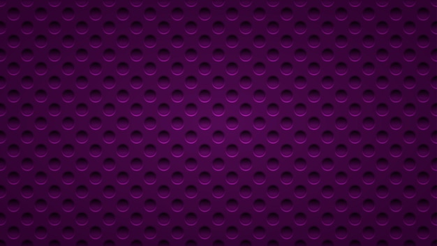 Abstract background with holes in dark purple colors