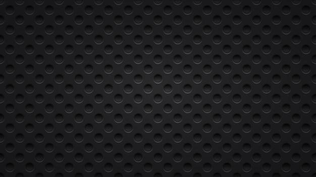 Абстрактный фон с отверстиями в темно-серых тонах