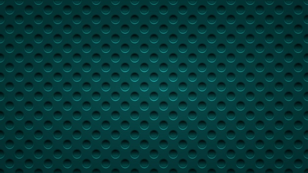 Abstract background with holes in light blue colors