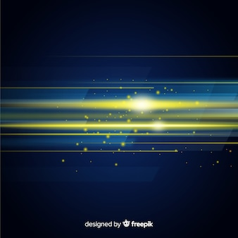 Abstract background with horizontal light movement