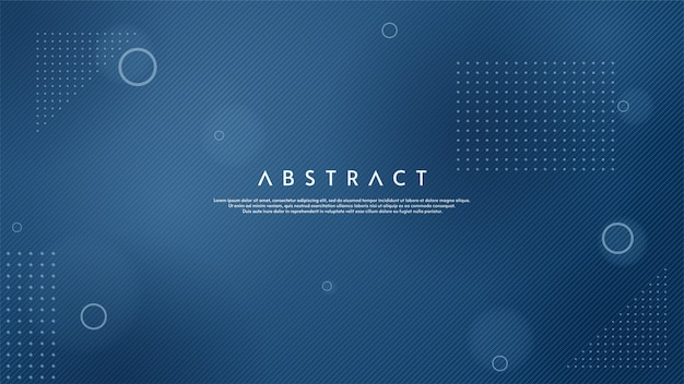 Abstract background with illustration of thin blue lines.