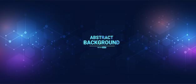 Abstract background with light effect