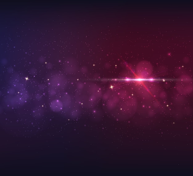 Abstract background with light glare