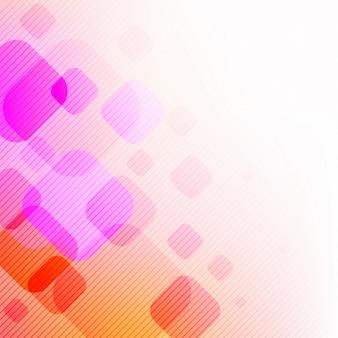 線と四角で抽象的な背景。