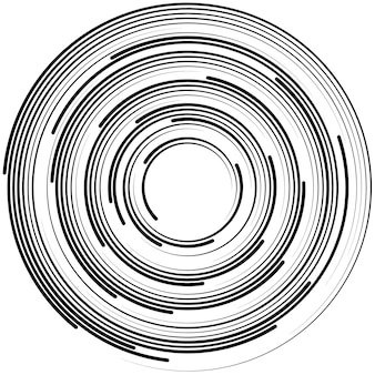Abstract background with lines. circles with place for your text  on a white background.