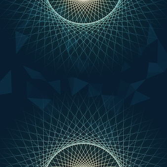 Abstract background with lines design