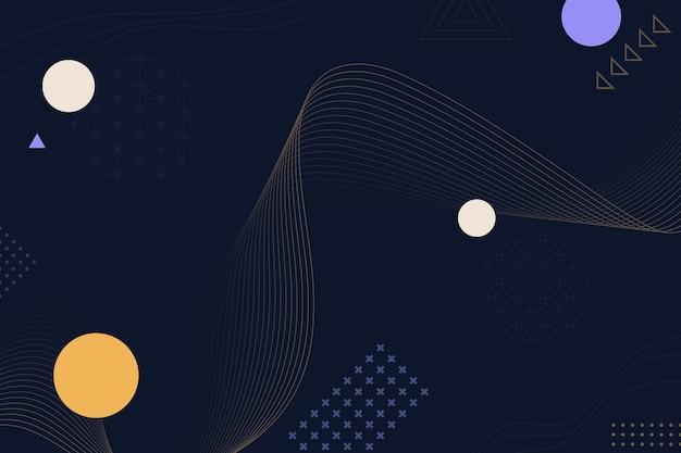 Абстрактный фон с линиями