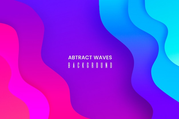 Abstract background with liquid shapes