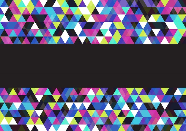 Abstract background with a low poly design Free Vector