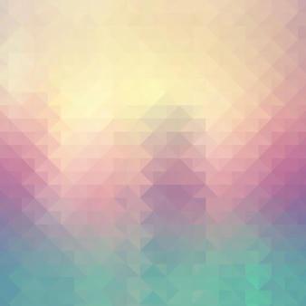 Sfondo astratto con un disegno geometrico low poly