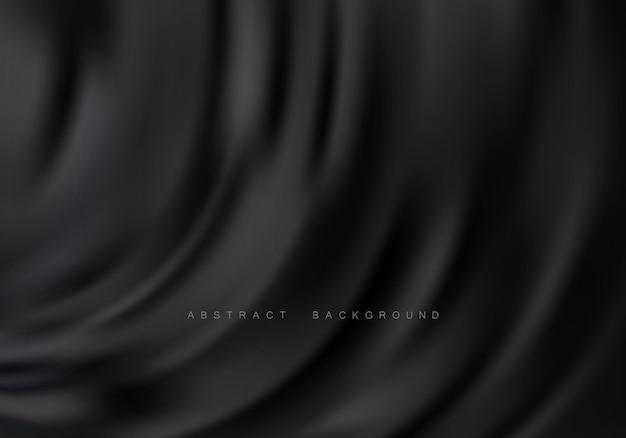 Абстрактный фон с роскошной тканью волны шелковой текстуры фона