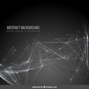 Abstract background with a mesh
