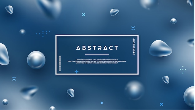 Abstract background with mixing colors